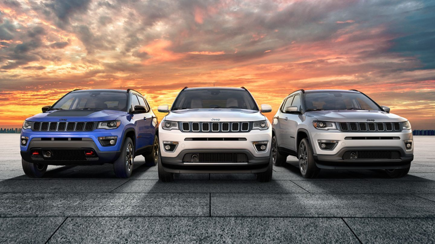 2020 Jeep Compass Front View Exterior Lineup